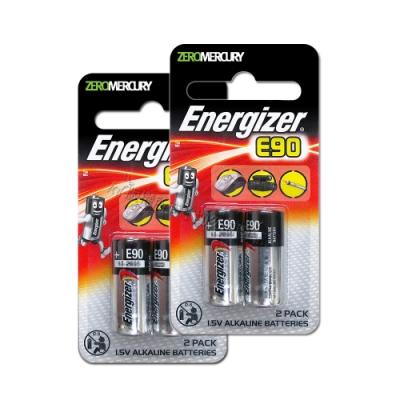 Energizer 勁量 N-LR1 E90 BP-2 持久型5號鹼性電池(4顆入)