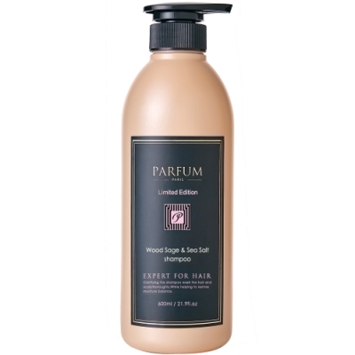 Parfum 香氛精油洗髮精600ml(鼠尾草與海鹽)