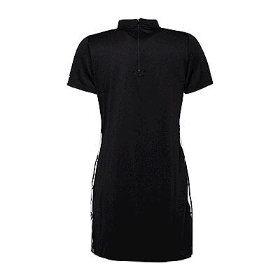 CONVERSE-女短袖連身裙10006743-A03-黑