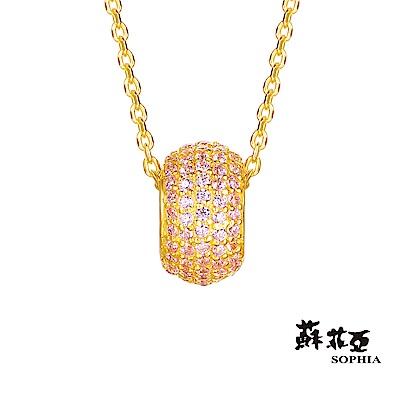 蘇菲亞SOPHIA - GoldShine系列粉紅黃金項鍊