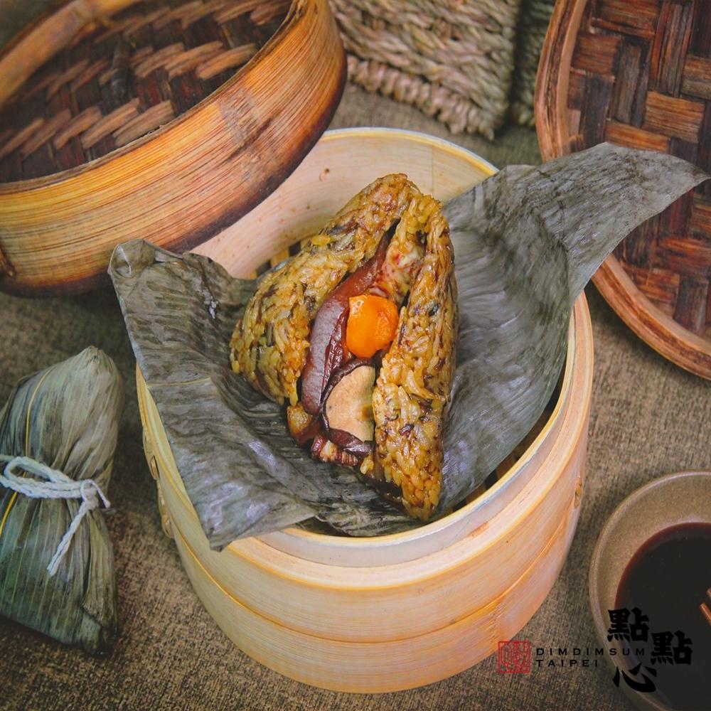 【點點心】梅干扣肉粽5入/包 (216g/入)