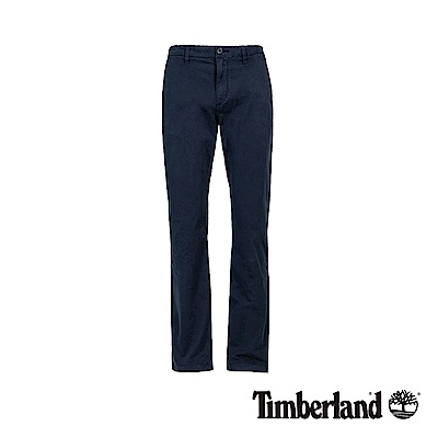Timberland 男款暗藍色SQUAM LAKE直筒休閒褲|A1V6N