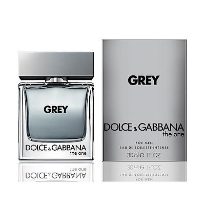 D&G The One GREY唯我銀河淡香水30ml (贈名牌小香)