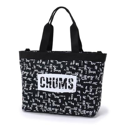 CHUMS Logo Tote Bag托特包 HWYC Booby 黑-CH603129Z189