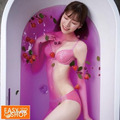 EASY SHOP-珍奶-天然氣泡飲-低腰三角內褲-森林野莓氣泡飲