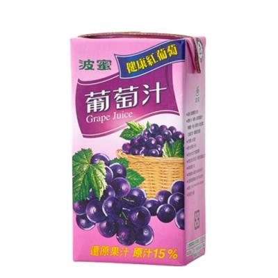 波蜜 葡萄汁(300mlx6入)