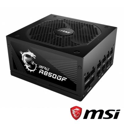 MSI微星 MPG A850GF 80 PLUS金牌認證電源供應器