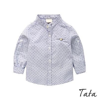 兒童 點點印花口袋襯衫 TATA KIDS