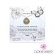 美國DOGEARED 魅力小蜜蜂金幣純銀祈願項鍊 Abundance Bee Necklace product thumbnail 1