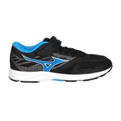MIZUNO SPEED STUDS BELT 男女大童運動鞋-美津濃 慢跑 K1GC194010 黑藍
