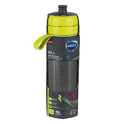 德國BRITA Fill&Go Active運動濾水瓶-萊姆綠