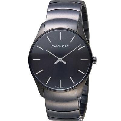 Calvin Klein Classic 簡約經典時尚腕錶(K4D21441)38mm