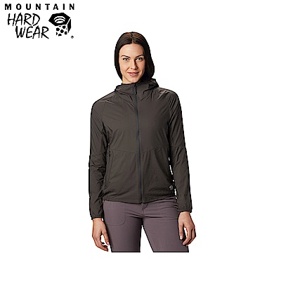 Mountain Hardwear 女款- 輕量防小雨風衣-深灰 MOL74100