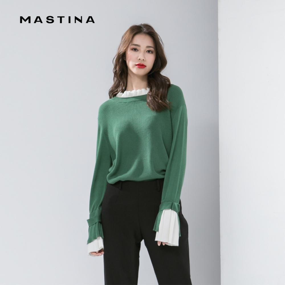 【MASTINA】法式優雅質感-針織衫(三色)