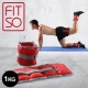 【FIT SO】OS1-腿部沙包加重器-1kg(紅灰) 負重沙袋 product thumbnail 1