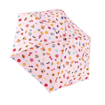 RAINSTORY怪獸星球(粉)抗UV手開輕細口紅傘