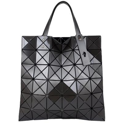 ISSEY MIYAKE 三宅一生BAOBAO 三角方格6x6透光手提包(珍珠銀)