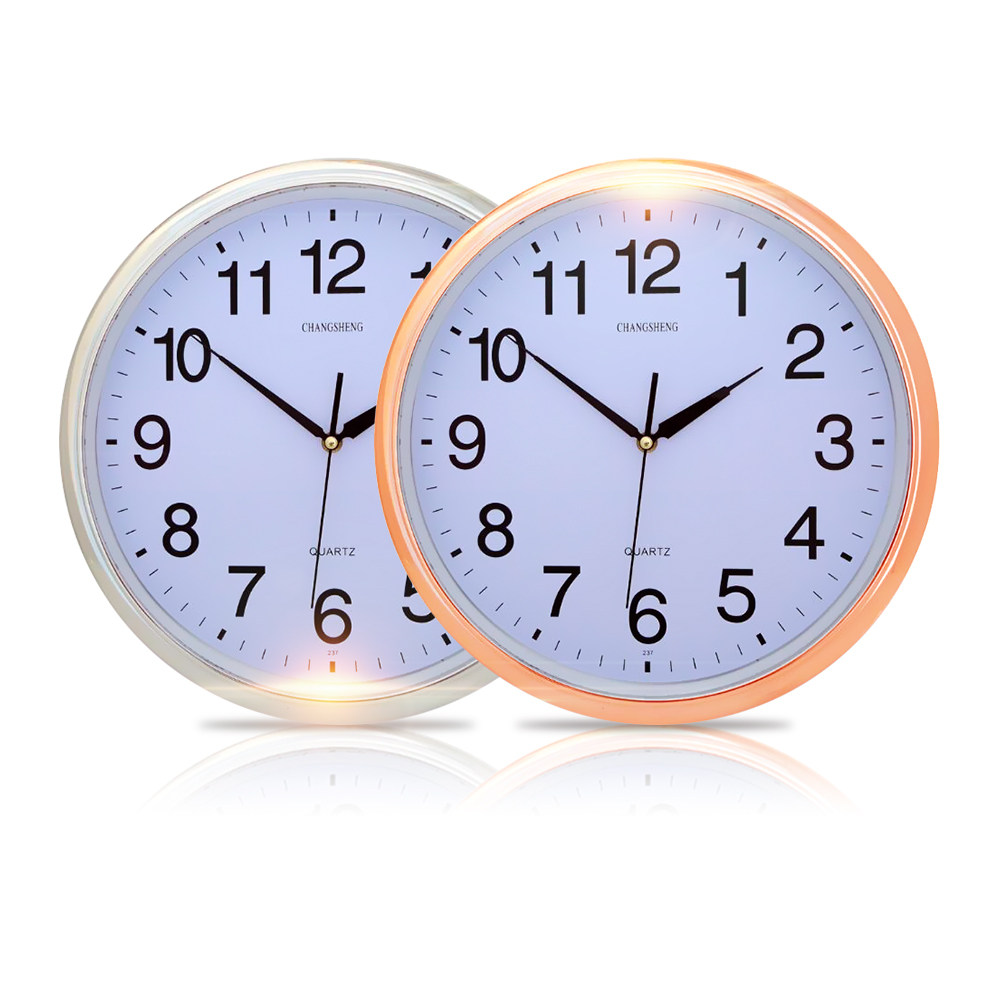 便利社 超靜音 14吋經典掛鐘