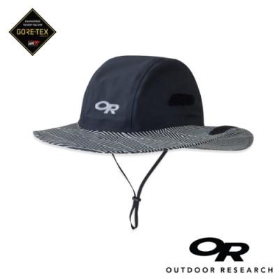 【美國Outdoor Research】條紋款防水透氣防曬可折疊遮陽帽