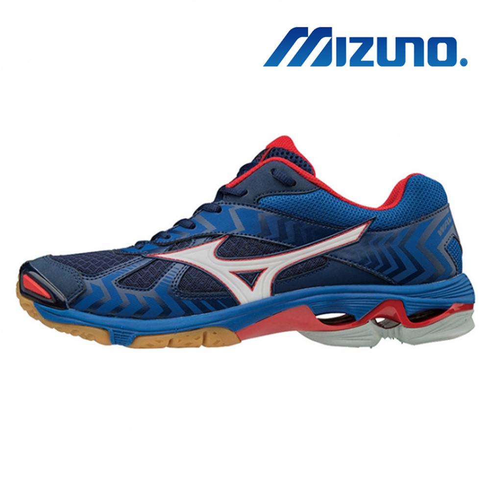 MIZUNO WAVE BOLT 7 男 排球鞋 藍 V1GA186027