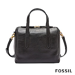 FOSSIL SYDNEY SATCHEL 波士頓包-黑色