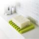 日本【YAMAZAKI】Flow斷水流肥皂架-綠★浴室收納/衛浴收納/肥皂盤/肥皂 product thumbnail 1