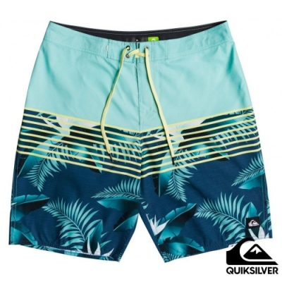 【QUIKSILVER】EVERYDAY LIGHTNING 20 衝浪褲 淺藍