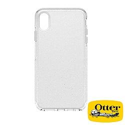 OtterBox iPhoneXS Max炫彩幾何透明系列保護殼-冰雪晶透