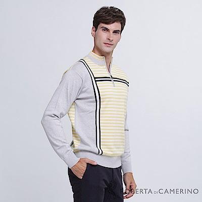 ROBERTA諾貝達 台灣製 舒適保暖 純美麗諾羊毛衣 黃