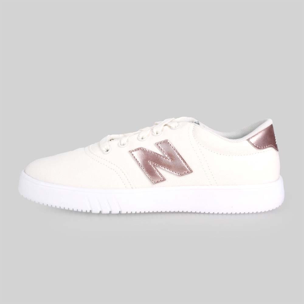 NEWBALANCE CT10系列 女休閒鞋-慢跑 NB N字鞋 白玫瑰金