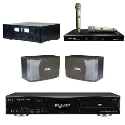 音圓N2+SUGAR SAK-5888+SK-8610+MI-889(伴唱機4TB+卡拉OK套組)