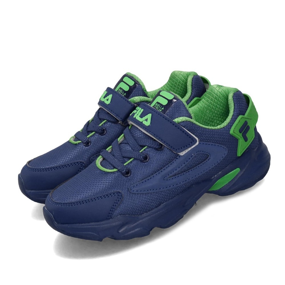 Fila 慢跑鞋 2J824T336 運動 童鞋