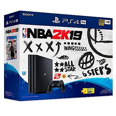 PS4 Pro NBA 2K19 同捆組