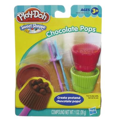Play-Doh 培樂多-迷你甜點工具組(巧克力) 無毒黏土 創意DIY