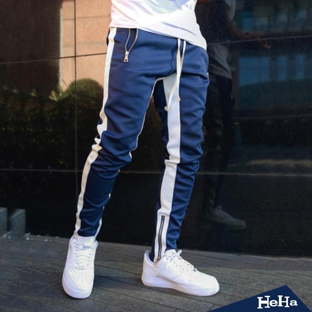 HeHa-運動休閒長褲 跑步褲 訓練褲 五色