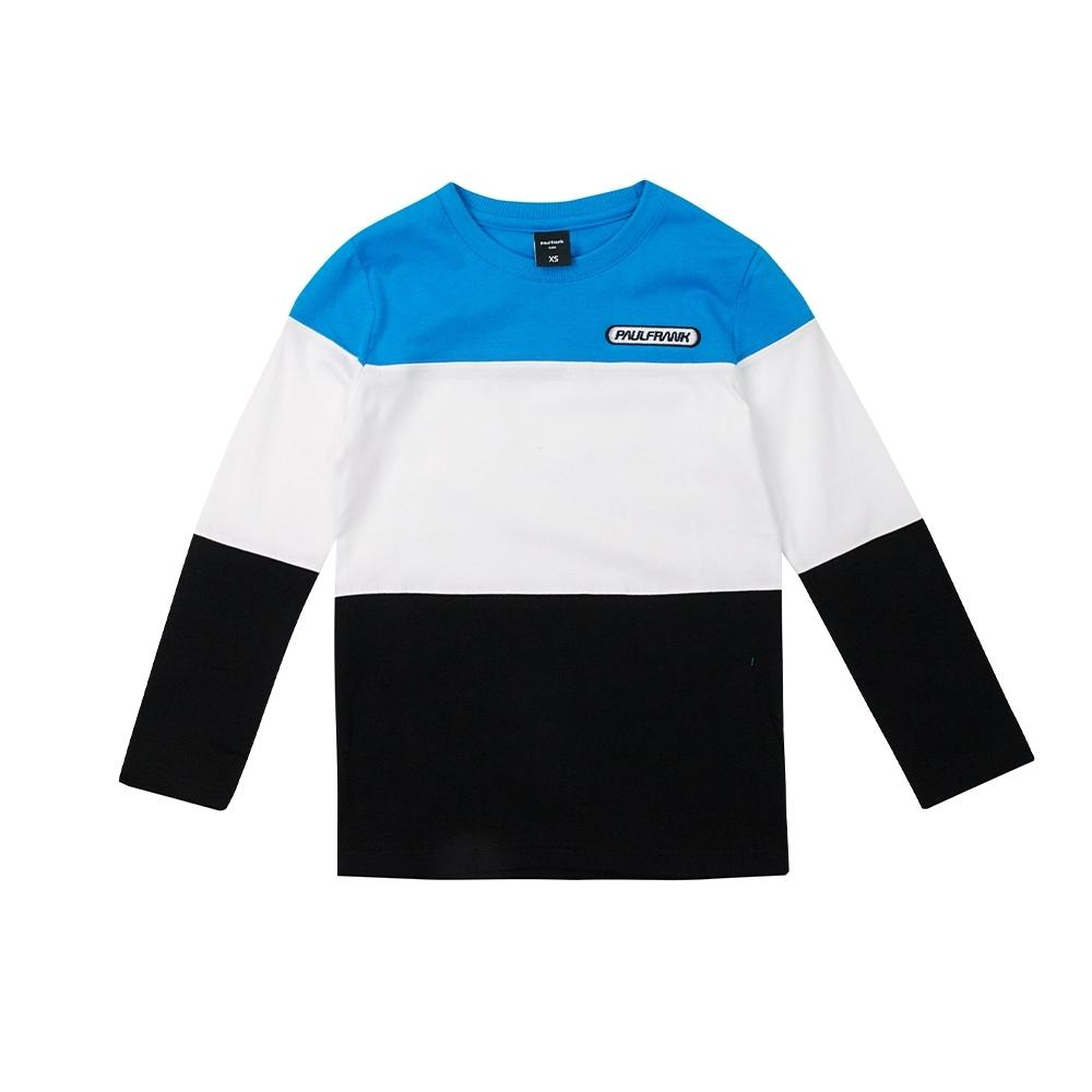 paul frank 美式長袖上衣-藍(童)