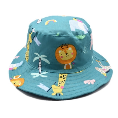 Kori Deer 可莉鹿 動物園純棉嬰兒童漁夫帽 男童寶寶帽防曬盆帽遮陽帽