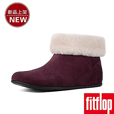 FitFlop SARAH SLIPPER BOOTIES-紅