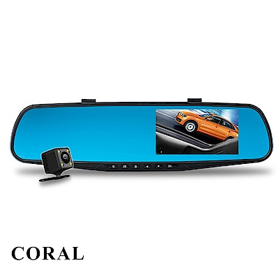 CORAL M2 1080P 固定測速 雙鏡頭行車記錄器