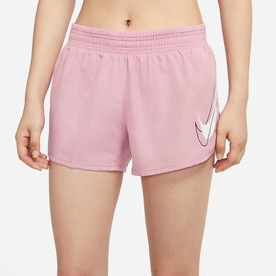 Nike Dri-FIT Swoosh Run 女短褲-粉-DD4924630
