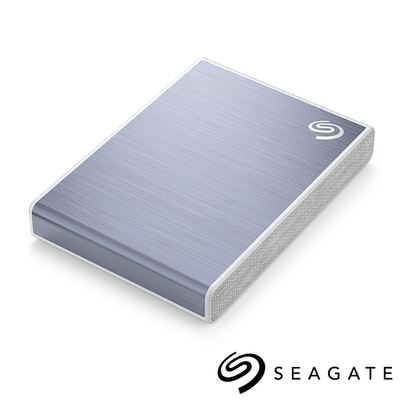 Seagate One Touch 500G 外接SSD 高速版 冰川藍(STKG500402)
