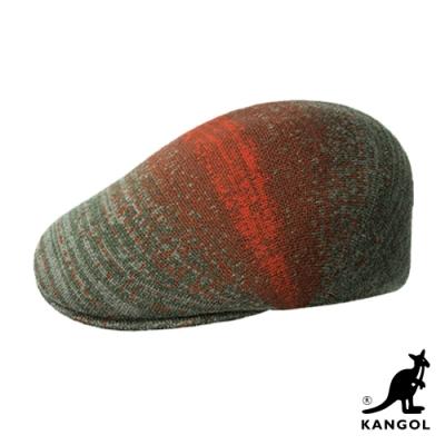 KANGOL-507 MORSE鴨舌帽-灰綠色