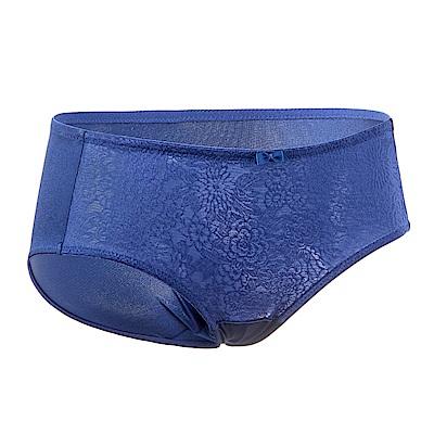黛安芬-自在極致系列平口內褲 M-EL(深海藍)