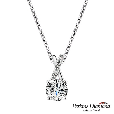 PERKINS 伯金仕-GIA X Series D/VS2 0.30克拉鑽石項鍊