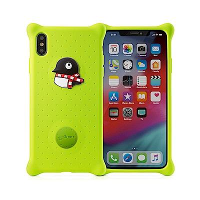 BONE / Phone XS Max 泡泡保護套-企鵝