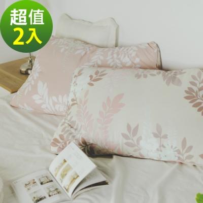 絲薇諾  枕頭/枕心  吸濕排汗天絲枕2入組 - 喬安娜