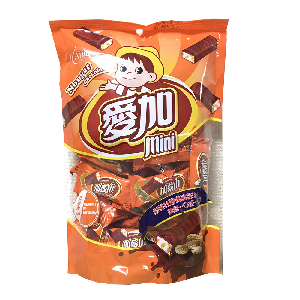 愛加 小愛加 Nougat Chocolate (264g)