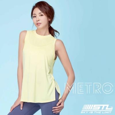STL YOGA METRO SL 韓國瑜珈 地鐵Nashi 運動機能訓練無袖背心上衣 鵝黃