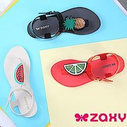Zaxy 巴西 女水果樂園T字涼鞋-共三色