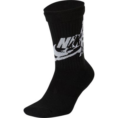 NIKE 襪子 運動襪 中筒襪 2雙入 黑 SK0112010 U J LEGACY CREW-JUMP CLASSIC